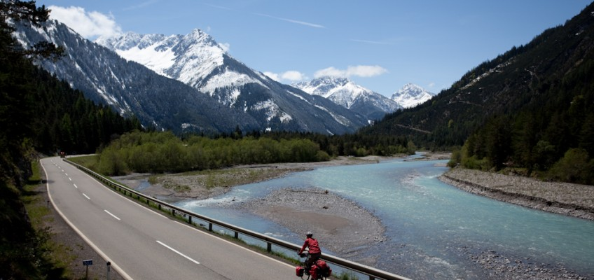 Fahrradtour Lechtal